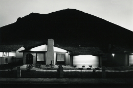 Lewis Baltz, Model Home, Shadow Mountain, from NEVADA