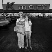 Mother and Daughter at Kmart, 1976