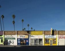 3500 Block, Pico Boulevard, Los Angeles, chromogenic print