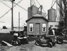 Randolph, WI, from the series, Sites of Southern Wisconsin, 1981