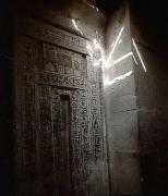 Spirit Door, Egypt, 1989, toned gelatin silver print, 12 x 10 inches