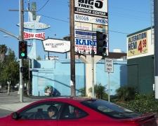Fantasy Island, Pico Boulevard, Los Angeles, chromogenic print