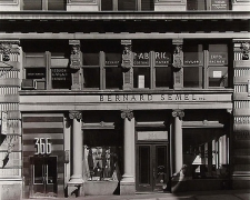 366 Broadway, NYC, 1976, vintage ferrotyped gelatin silver print,
