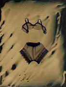 Susan Seubert Bra, Panties, 2005, dry plate tintype