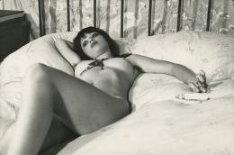 Viki, 1974 vintage gelatin silver print