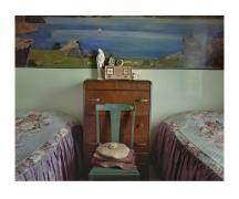 Piacenzia's Bedroom, 1973, chromogenic print
