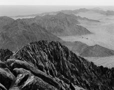 Ridge, Sierra del Rosario, Sonora, carbon pigment print, 29 x 35 inches