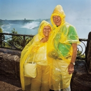 Couple at Niagara Falls, Canada
