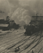 In New York Central Yards, 1903 (1911)