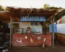 Ice cream vendor, Playa La Boca, 2004, chromogenic print