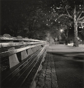 Central Park Bench, New York, New York, 2000