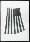 Spreading Flag, 1989, vintage gelatin silver print (Itek print)
