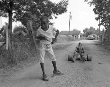 Vicksburg, Mississippi - Alan Pulling Friend, 1983