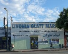 Livonia Glatt Market, Pico Boulevard, Los Angeles, chromogenic print