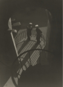 Roland E. Schneider, From the Circular Stairway. c. 1931