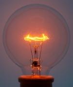 Light Bulb 2 Orange, 2018