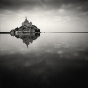 Floating Abbey, Mont St. Michel, France, 2000