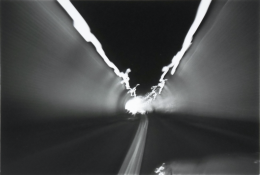 Departing D.C., 1980, vintage gelatin silver print