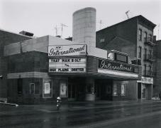 George Tice New International Cinema, New Brunswick, NJ