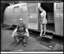 Den and Jess, Lakeville, Massachusetts, 1992, vintage gelatin silver print