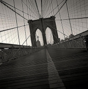 Brooklyn Bridge, Study 4, New York, New York, 2000