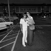 Couple at Fedco, 1976