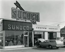 Triangle, Sunoco Station, South Hackensack, NJ