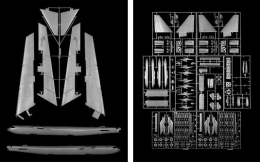 B-52 Stratofortress, 2005, carbon pigment print, 58 1/2 x 47 inches each