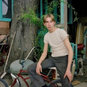 The Maples #61 - Boy with Bicycle
