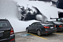 American Apparel Mural and Autos, Los Angeles, California, 2010