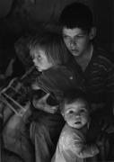 Trailer Camp Children, 1944