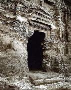 Tomb Doorway, Petra, Jordan, 1995,