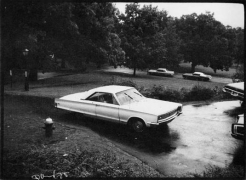 Bill Arnold Frank Trapp's car, c.1980