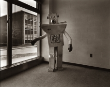 untitled (from the series, Uranium Robots), 1976, vintage gelatin silver print