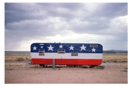 Trailer, Arizona, Route 66, 1975