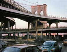 Brooklyn Bridge, 1985, digital chromogenic print