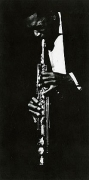 Ave Pildas, John Coltrane, 1962, vintage gelatin silver print, 12 1/2 x 6 1/4 inches