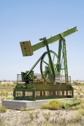 Oil Pump Jacks: Artesia, New Mexico, from the series,Beneath the Dirt of Great Men