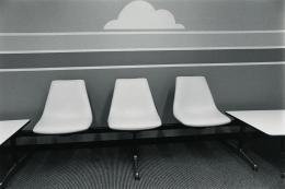 Cloud Break, Los Angeles, 1978, vintage gelatin silver print