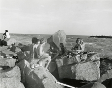 Group of Teens on Rocks
