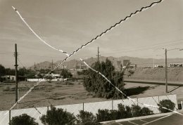 Tucson Fence, from the series Cancellations