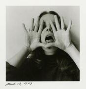Melissa Shook self-portrait, March 19, 1973