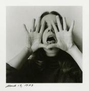 Melissa Shook self-portrait, March 19, 1973