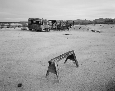 Angel Monreal's Ranch, carbon pigment print