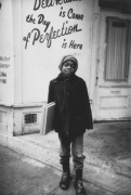 Young boy on the north side of Detroit, Detroit, 1968