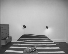 bed, Washington, D.C., 1977
