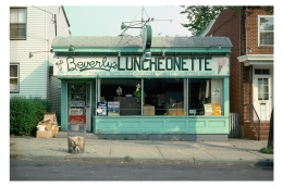 Beverly's Luncheonette, 1980