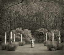 Pillar Garden, The Courts, from the series In the Garden