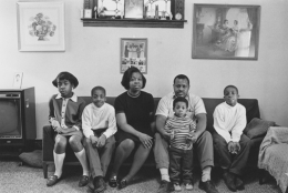 East side Detroit family, Detroit, 1968