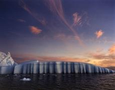 Len Jenshel, Disko Bay, Ilulissat, Greenland, 2001, chromogenic print